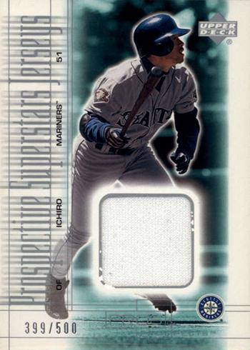 2001 Upper Deck Pros and Prospects Ichiro Suzuki RC