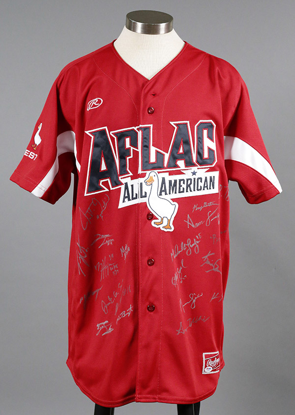 2010 Aflac West Team-Signed Jersey