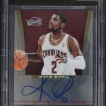 2013-14 Select Franchise Autographs Kyrie Irving  BGS 9-5 Single Grade