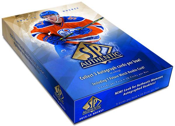 2015-16 SP Authentic Hockey Hobby Box