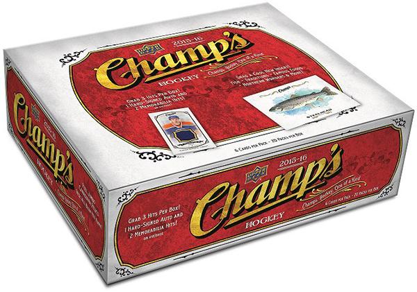 2015-16 Upper Deck Champ's Hockey Box