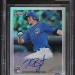 2015 Topps Chrome Kris Bryant Refractor Autograph  BGS 9-5 Single Grade