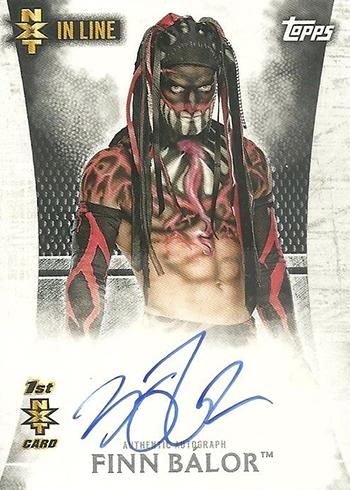 2015 Topps WWE Undisputed NXT Autographs Finn Balor