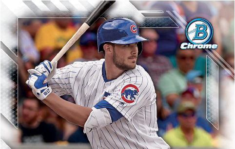 2016 Bowman National Refractor Kris Bryant header