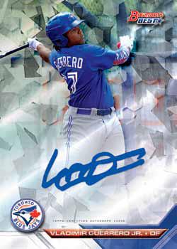 2016 Bowman's Best Baseball Best of 2016 Autograph Atomic Refractor