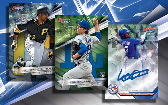 2016 Bowman's Best Baseball Header
