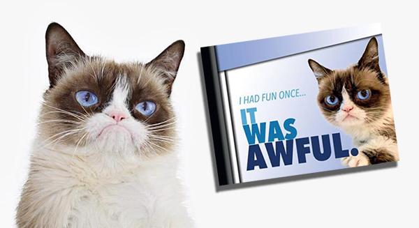 2016 Breygent Grumpy Cat SDCC Promo Header