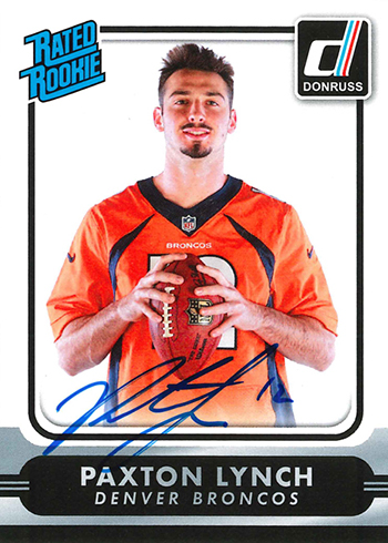 2016 Panini National Sports Collectors Convention Next Day Autographs Paxton Lynch