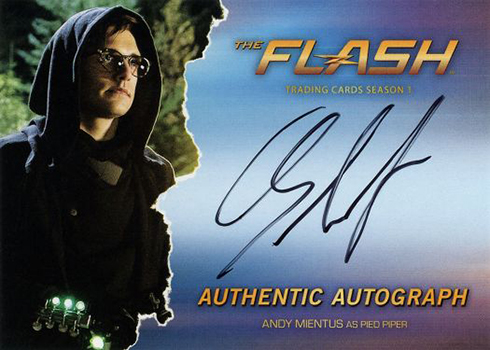 2016 The Flash Season 1 Autographs Andy Mientus Pied Piper