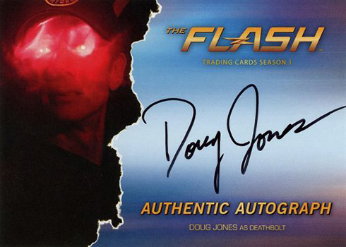 2016 The Flash Season 1 Autographs Doug Jones Deathbolt