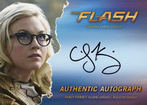 2016 The Flash Season 1 Autographs Emily Kinney
