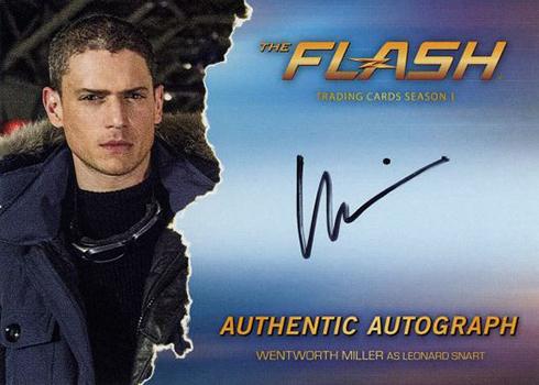 2016 The Flash Season 1 Autographs Wentworth Miller
