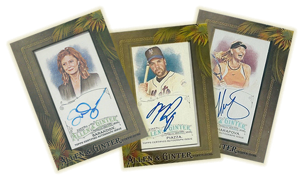 2016 Topps Allen and Ginter Autographs Header