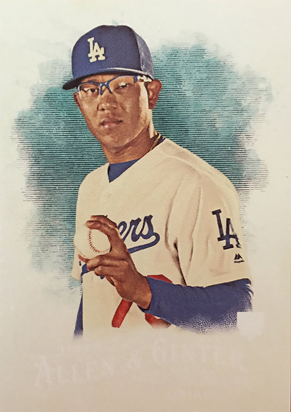 2016 Topps Allen and Ginter Julio Urias RC