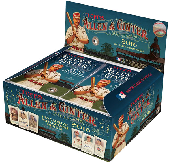 2016 Topps Allen & Ginter X Baseball Box