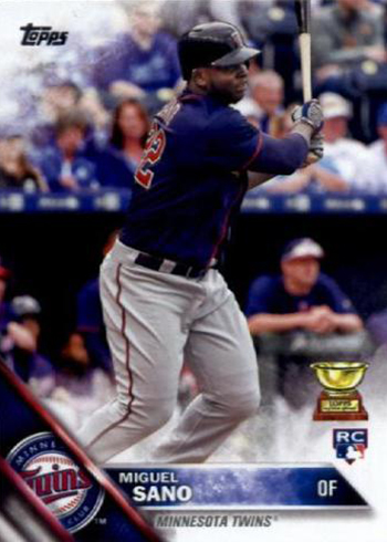 2016 Topps Baseball Variations Retail 78 Miguel Sano