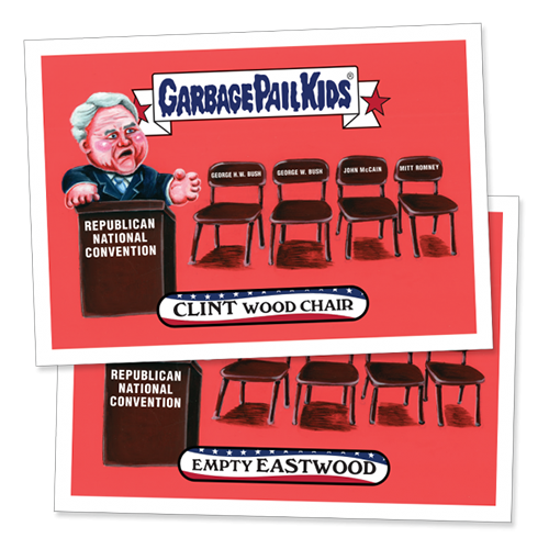 2016 Topps Garbage Pail Kids Republican National Convention Eastwood
