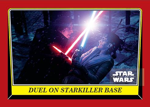 2016 Topps Star Wars Celebration Force Awakens