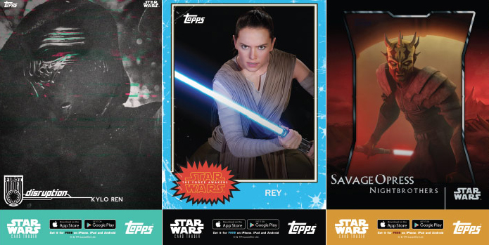 2016 Topps Star Wars San Diego Comic-Con Posters A