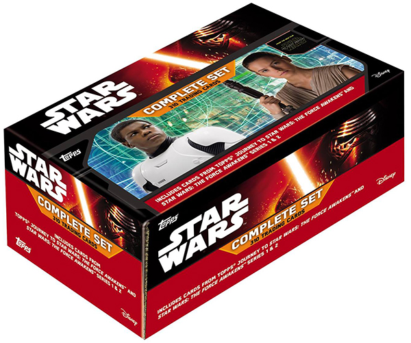 2016 Topps Star Wars The Force Awakens Factory Set