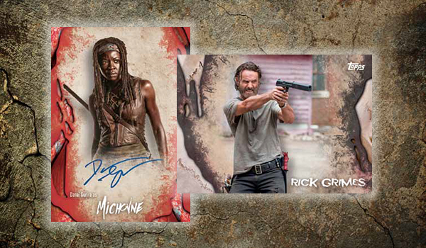 2016 Topps Walking Dead Survival Box Header