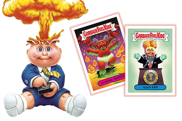 2017 Topps Garbage Pail Kids Series 1 Header