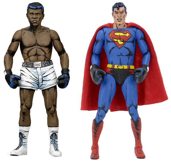 NECA Superman vs Muhammad Ali B