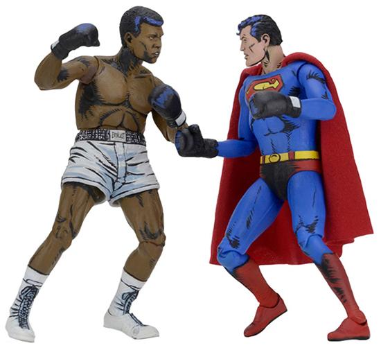 NECA Superman vs Muhammad Ali