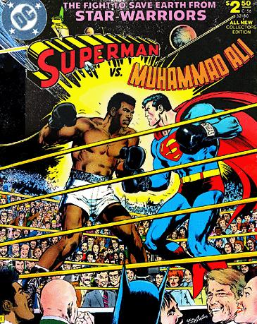 Superman vs Muhammad Ali Cover