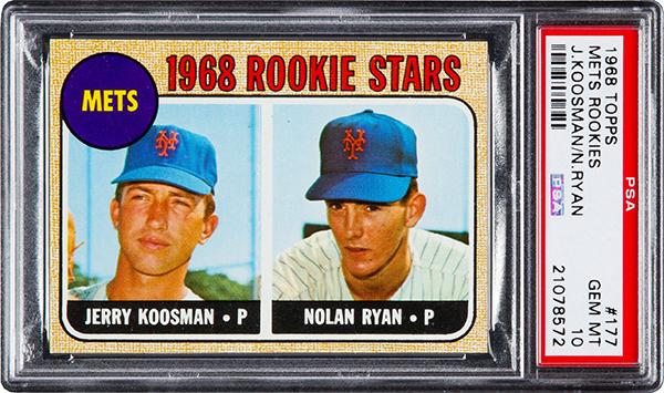 1968 Topps Nolan Ryan PSA 10 600