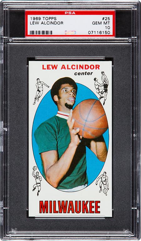 1969-70 Topps Lew Alcindor PSA 10 450