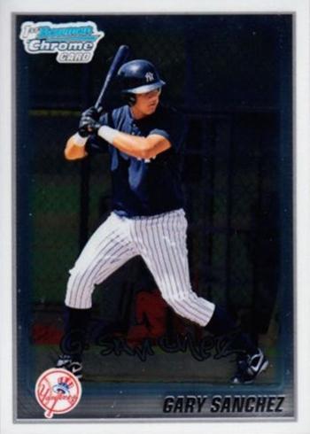 2010 Bowman Chrome Prospects Gary Sanchez
