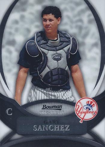 2010 Bowman Sterling Gary Sanchez