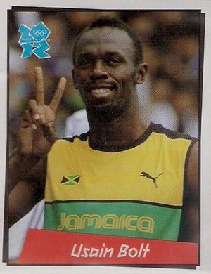 2012 Panini London 2012 Stickers Usain Bolt 267