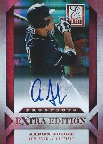2013 Panini Elite Extra Edition Aaron Judge Autograph