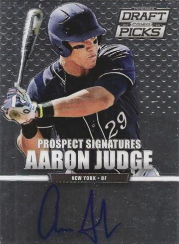 2013 Panini Prizm Perennial Draft Picks Autographs Aaron Judge