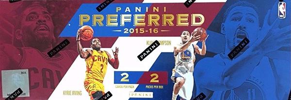 2015-16 Panini Preferred Box