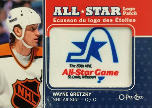 2016-17 O-Pee-Chee Hockey All-Star Logo Patch 1988