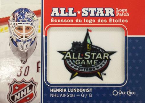 2016-17 O-Pee-Chee Hockey Patch 2012 All-Star