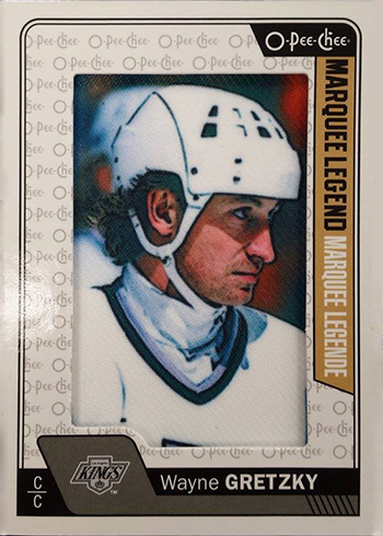 2016-17 O-Pee-Chee Hockey Patch Marquee Legend Gretzky