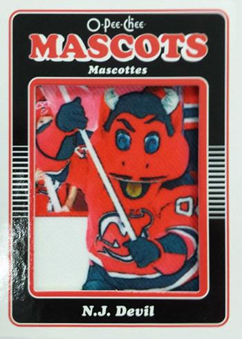 2016-17 O-Pee-Chee Hockey Patch Mascot