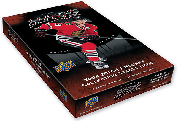 2016-17 Upper Deck MVP Hobby Box