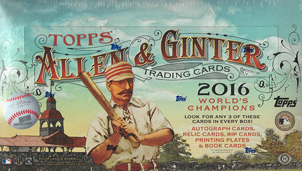 2016 Allen and Ginter Hobby Box