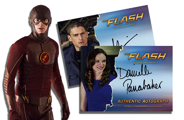 2016 Cryptozoic The Flash Season 1 Autographs Header