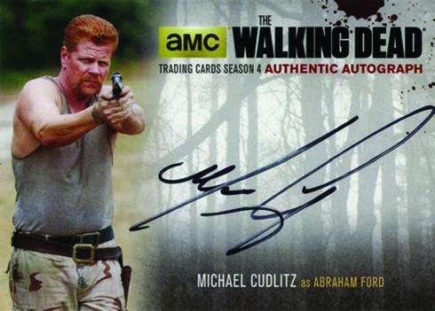 2016 Cryptozoic Walking Dead Season 4 Part 2 Autograph