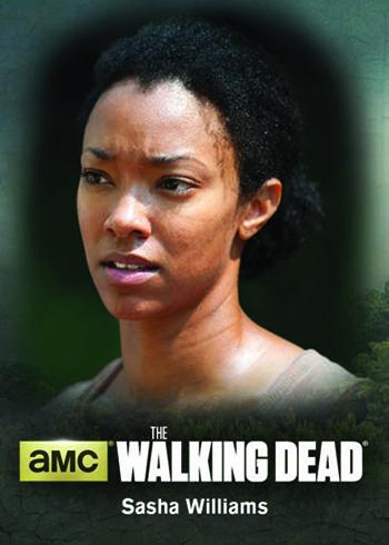 2016 Cryptozoic Walking Dead Season 4 Part 2 Character Bios