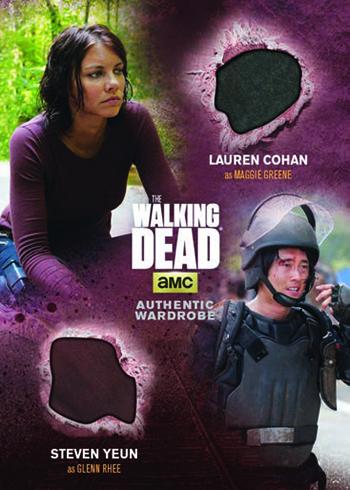 2016 Cryptozoic Walking Dead Season 4 Part 2 Dual Memorabilia