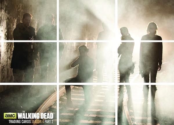 2016 Cryptozoic Walking Dead Season 4 Part 2 Reunion