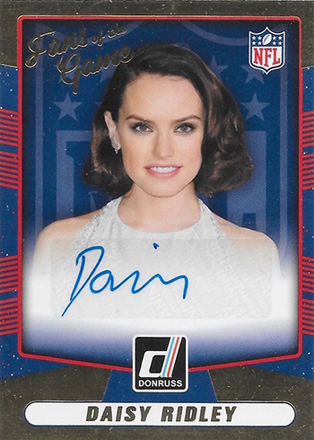 2016 Donruss Fans of the Game Autographs Daisy Ridley