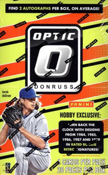 2016 Donruss Optic Baseball Hobby Box